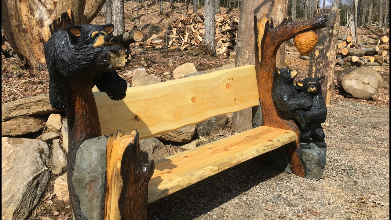 "Featured image for ""Large Bear Bench"""