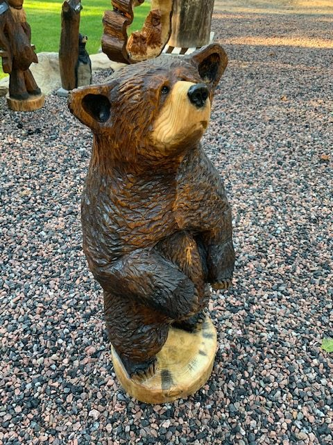 "Featured image for ""3′ Bear Carving"""
