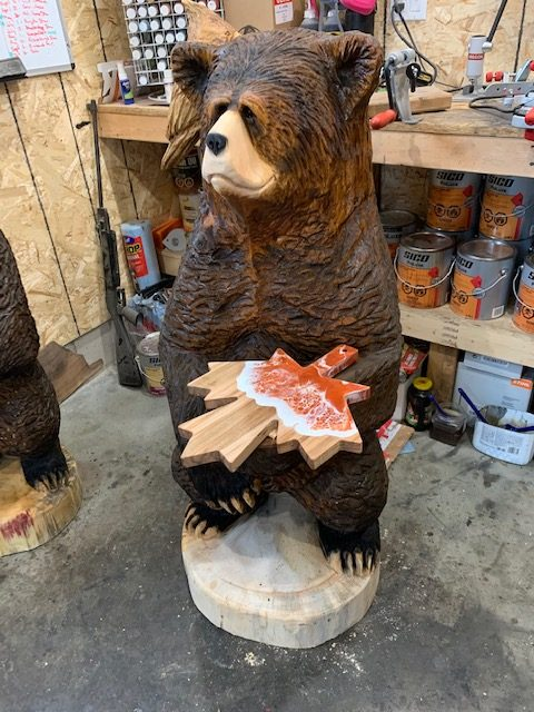 "Featured image for ""4′ Bear with Charcuterie Board"""