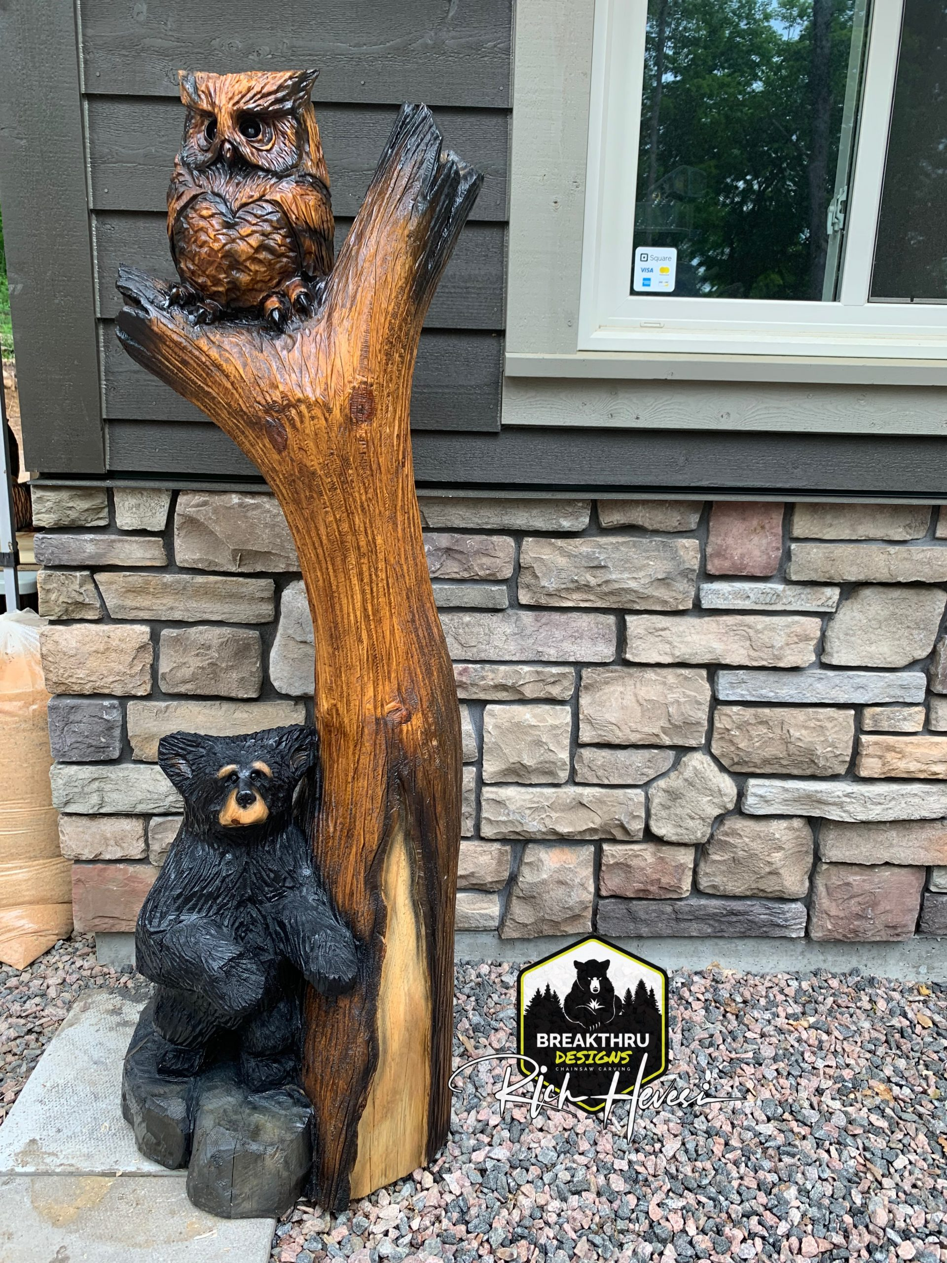 """Featured image for """"Owl & Bear combo"""""""