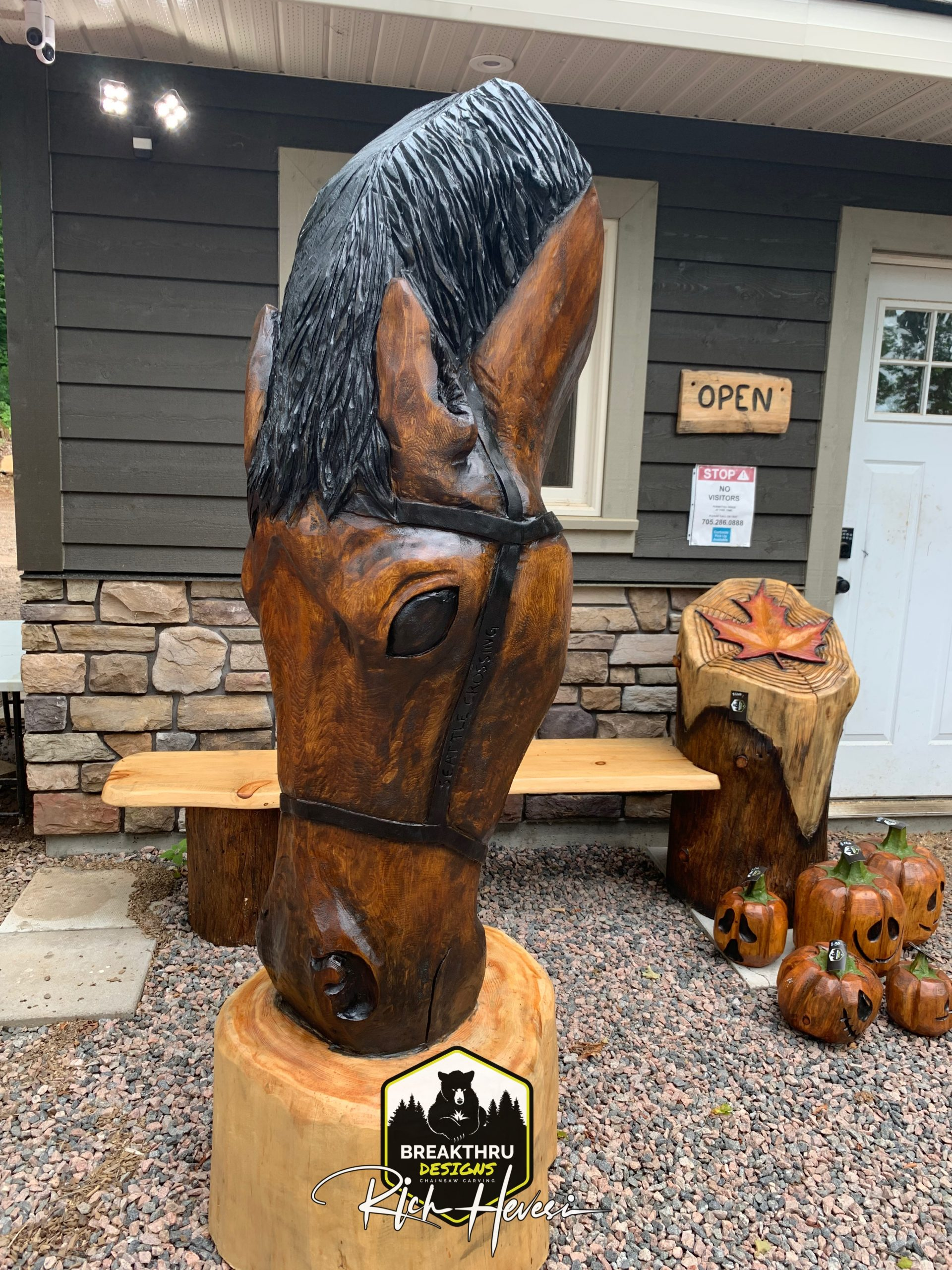 """Featured image for """"7' Horse Bust"""""""